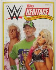 WWE 2018 HERITAGE Shirt - Mat - TLC MEDALLION Relic Card SINGLES topps