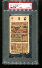 1929 World Series Game 1 Ticket A's 3 Cubs 1 PSA #26896746