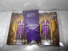 Women Thierry Mugler Alien 30ml Body Lotion & 2 Alien Eau De Parfum samples New