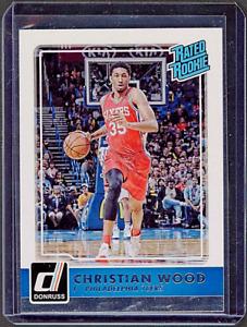 2015-16 Panini Donruss Rated Rookie #238 Christian Wood  RC