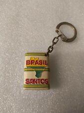 ANCIEN PORTE CLE *BRASIL SANTOS* CAFÉS GAUTIER LILLE