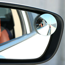 Universal 360° Car Blind Spot Side Mirror Stick On Glass Adjustable Safety Lens!