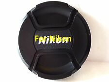 58mm Snap on Center Pinch Lens Cap Dust Cover Protector For Nikon New