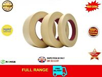 6 GENERAL MASKING TAPE 48mmx 50M PAINTER PAINTING DECORATING ART CRAFT BODY SHOP