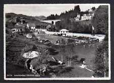 100921 AK Schwimmbad Teuffen App. Fotokarte 1947