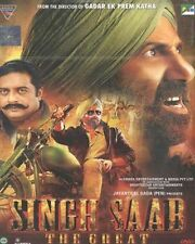 SINGH SAAB: THE GREAT (2013) SUNNY DEOL, AMRITA RAO - BOLLYWOOD MOVIE DVD