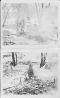 WWII 1942 USAAF 8th Sq. Charles Tower Australia Photos barbecue
