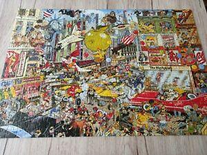 "Waddingtons jigsaw ""I Love New York - 500 pieces complete"