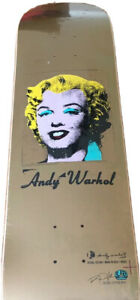 Alien Workshop Andy Warhol Gold Marilyn Monroe Skate Deck Skateboard Rob Dyrdek