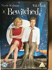 Nicole Kidman Will Ferrell BEWITCHED ~ 2005 Witch Black Magic Comedy UK DVD