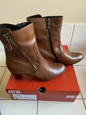 Ara Boots Brown High Ankle