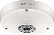 SAMSUNG SNF-8010P 5MP HD Fisheye interno CCTV IP POE DOME CAMERA PTZ digitale
