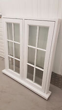 Wooden Casement Windows - ANY SIZE*- £599  - Maede to measure - Fully Finished