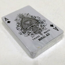 Playing Cards Standard Poker 100% PLASTIC New Brand Excellent korea