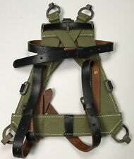 WWII GERMAN M1931 M31 CANVAS/LEATHER EQUIPMENT PACK A-FRAME