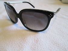 Chloe black / silver sunglasses. CE 642S. With case.