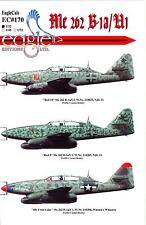 EagleCals Decals 1/32 MESSERSCHMITT Me-262B-1a & Me-262U1 Jet Fighters
