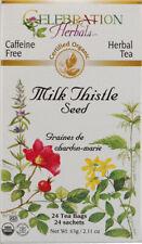 Milk Thistle Seed Tea, Celebration Herbals, 24 tea bag