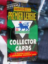 MERLIN'S PREMIER LEAGUE COLLECTOR CARD PACKS X 4, 1996, RARELY SEEN/AVAILABLE.