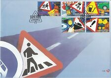 South Africa 2004 Drive Alive Safety Road Awareness Road Signboard (stamp FDC)