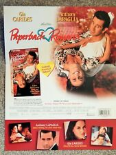 PAPERBACK ROMANCE / BREAKING THE WAVES (VIDEO DEALER BROCHURE 1990S) GIA CARIDES