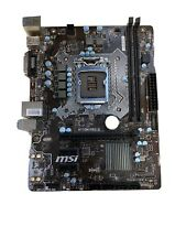 MSI H110M PRO-D Motherboard USED
