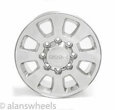 """NEW GMC Sierra HD Yukon XL 2500 3500 8 Lug 8x6.5"""" 18"""" Polished Wheels Rims 5501"""