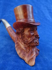 SUPERBE RARE TOP ! PIPE SCLUPTEE Carved pipe - ROGER VINCENT - VERDI ?