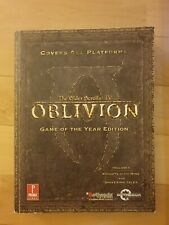 The Elder Scrolls IV Oblivion Game Of The Year  Edition Guide