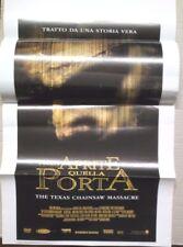 RARA LOCANDINA FILM-NON APRITE QUELLA PORTA- DEL 2003 N.369