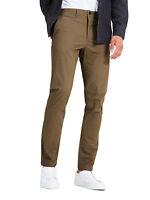 JACK & JONES Mens Marco Enzo Chinos Slim Cotton Stretch Trousers Tan Chino Pants