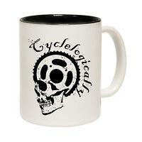 Cyclelogically Tea Novelty Cyclist Cycling Bike MUG birthday office funny gift
