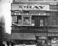 POSTER Dr Noel Decarie's office dental services Phillips Square Montreal QC 1925