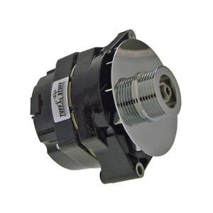 Tuff Stuff Alternator 7127NE6G; 10SI, 12SI 80 Amp Black 1-Wire w/ 6G Pulley