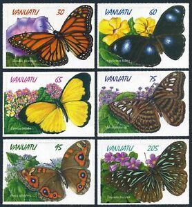 Vanuatu 721-726,726a,MNH.Mi 1065-1070,Bl.32. SINGPEX-1998.Butterflies,Flowers.