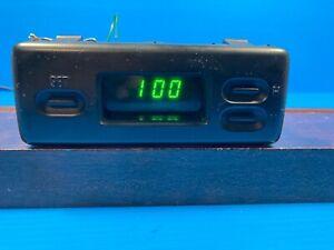 1998-2002 ISUZU TROOPER  DASH DIGITAL CLOCK