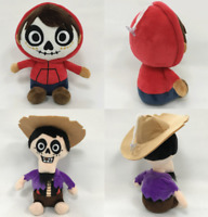 2PC/Set 8'' Coco Hector Miguel Cartoon Stuffed Animal Plush Figure Doll Gift Toy