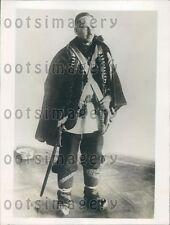 1928 Poland Parliamentarian Szekarjek Petro in Native Costume Press Photo