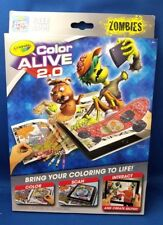 Crayola ZOMBIES Color Alive 2.0 - Bring Pages to Life With App Use