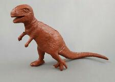 Mpc Tyrannosaurus Dinosaur Red Brown Plastic 1960s Prehistoric Playset Figure