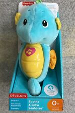 Fisher-Price Soothe and Glow Seahorse, Blue
