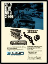 Shelby Parts & Accessories New Metal Sign: Features Jerry Titus, #17 Race Car