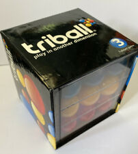 Game triball  3 dimensional game balls in a row tic tac toe