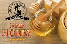 Raw Honey - 2017 Harvest direct from Beekeeper - NET WT. 1 Kg of Honey
