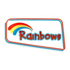 Rainbows Logo PVC Badge OFFICIAL SUPPLIER.