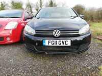 2011 Volkswagen Golf 1.6 TDi 105 BlueMotion Tech Match 5dr DSG HATCHBACK Diesel