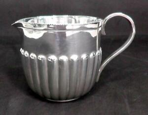 Solid Silver Cream Jug Dated 1898 by William Hutton & Sons