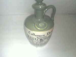 DECORATIVE GREEN BEIGE KITCHEN BAR JUG BOTTLE