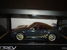 Norev Porsche 911 GT3 RS 2010 Grey 1/18 Minor Paint Defect (Foggy paint on top)