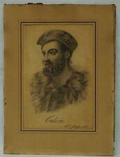 HERREN PORTRAIT CEDERIC - C.F. GOTTLIEBSEN - 1834 BIEDERMEIER - HIGH QUALITY